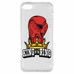 Купить Бокс/Кикбоксинг, Чехол для iPhone5/5S/SE king of the Ring, FatLine