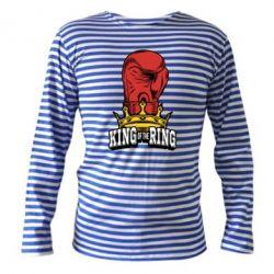 Тельняшка с длинным рукавом king of the Ring - FatLine