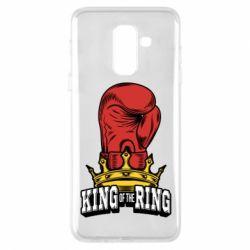 Чехол для Samsung A6+ 2018 king of the Ring - FatLine