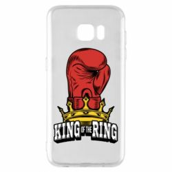 Чехол для Samsung S7 EDGE king of the Ring - FatLine