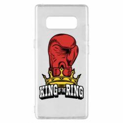 Чехол для Samsung Note 8 king of the Ring - FatLine
