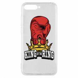 Чехол для Huawei Y6 2018 king of the Ring - FatLine