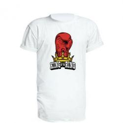 Удлиненная футболка king of the Ring - FatLine