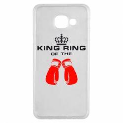 Чехол для Samsung A3 2016 King Ring - FatLine