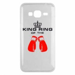 Чехол для Samsung J3 2016 King Ring - FatLine