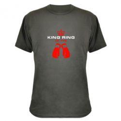 Камуфляжная футболка King Ring - FatLine