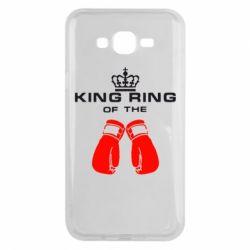 Чехол для Samsung J7 2015 King Ring - FatLine