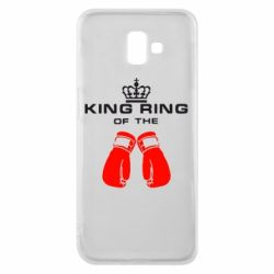 Чехол для Samsung J6 Plus 2018 King Ring - FatLine