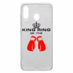 Чохол для Samsung A30 King Ring
