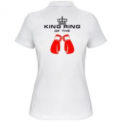 Женская футболка поло King Ring - FatLine