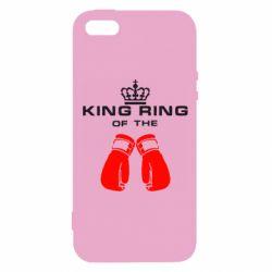 Купить Бокс/Кикбоксинг, Чехол для iPhone5/5S/SE King Ring, FatLine