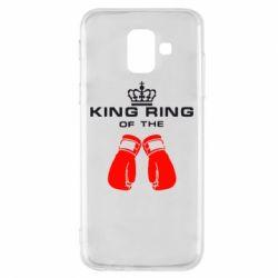 Чехол для Samsung A6 2018 King Ring - FatLine