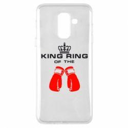 Чехол для Samsung A6+ 2018 King Ring - FatLine
