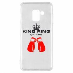 Чехол для Samsung A8 2018 King Ring - FatLine