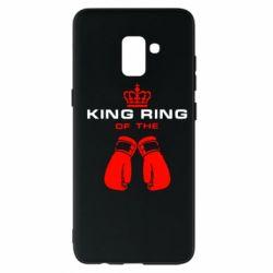 Чехол для Samsung A8+ 2018 King Ring - FatLine