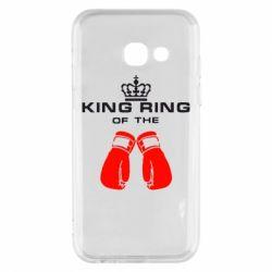 Чехол для Samsung A3 2017 King Ring - FatLine