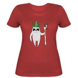 Женская футболка King sloths