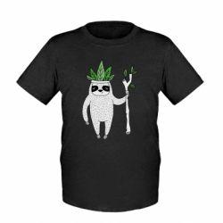 Детская футболка King sloths