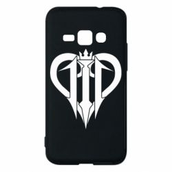 Чехол для Samsung J1 2016 Kingdom Hearts logo