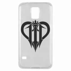 Чехол для Samsung S5 Kingdom Hearts logo