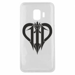 Чехол для Samsung J2 Core Kingdom Hearts logo