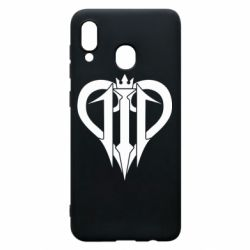 Чехол для Samsung A20 Kingdom Hearts logo