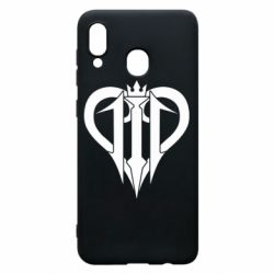 Чехол для Samsung A30 Kingdom Hearts logo