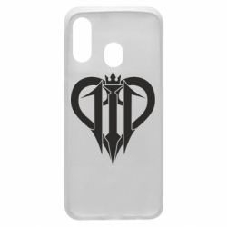 Чехол для Samsung A40 Kingdom Hearts logo