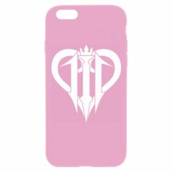 Чехол для iPhone 6 Plus/6S Plus Kingdom Hearts logo