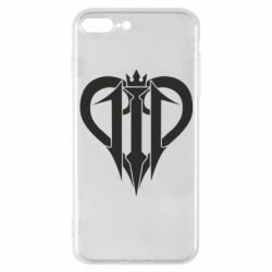 Чехол для iPhone 7 Plus Kingdom Hearts logo