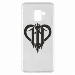 Чехол для Samsung A8+ 2018 Kingdom Hearts logo