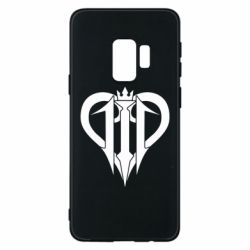 Чехол для Samsung S9 Kingdom Hearts logo