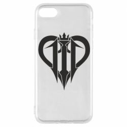 Чехол для iPhone 8 Kingdom Hearts logo