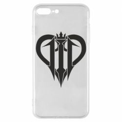 Чехол для iPhone 8 Plus Kingdom Hearts logo