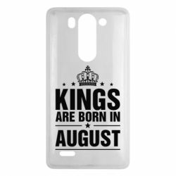 Чехол для LG G3 mini/G3s Kings are born in August - FatLine