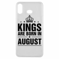 Чехол для Samsung A6s Kings are born in August - FatLine