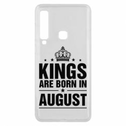 Чехол для Samsung A9 2018 Kings are born in August - FatLine