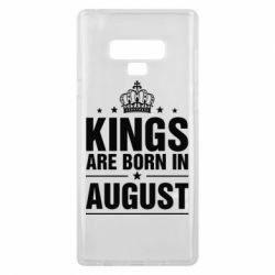Чехол для Samsung Note 9 Kings are born in August - FatLine
