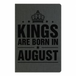 Блокнот А5 Kings are born in August - FatLine