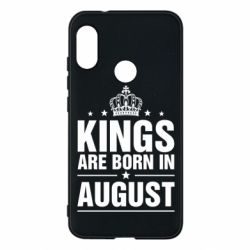 Чехол для Mi A2 Lite Kings are born in August - FatLine