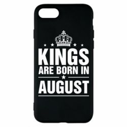 Чехол для iPhone 8 Kings are born in August - FatLine