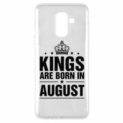 Чехол для Samsung A6+ 2018 Kings are born in August - FatLine