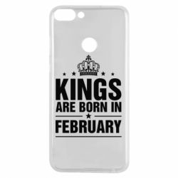 Чехол для Huawei P Smart Kings are born in February - FatLine