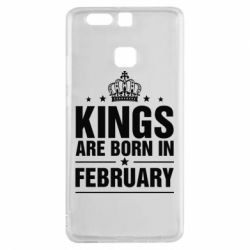 Чехол для Huawei P9 Kings are born in February - FatLine