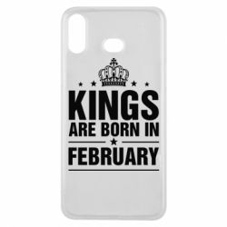 Чехол для Samsung A6s Kings are born in February - FatLine