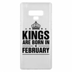 Чехол для Samsung Note 9 Kings are born in February - FatLine
