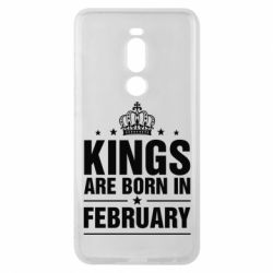 Чехол для Meizu Note 8 Kings are born in February - FatLine