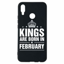 Чехол для Huawei P Smart Plus Kings are born in February - FatLine