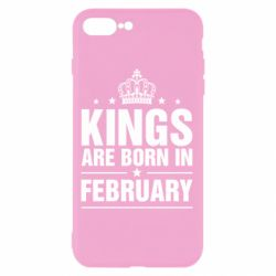 Чехол для iPhone 7 Plus Kings are born in February - FatLine