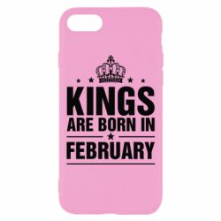 Чехол для iPhone 8 Kings are born in February - FatLine